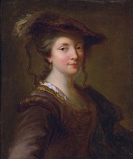 Purported portrait of Louise Julie de Mailly, by Alexis Grimou