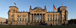 The Reichstag in Berlin – seat of the German parliament since 1999