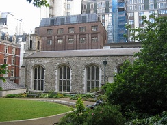 The Queen's Chapel of the Savoy, which acts as the chapel of the Royal Victorian Order