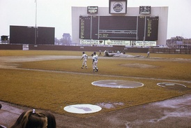 Shea Stadium prior to a game in September 1969.