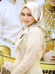 "Malaysian singer Siti Nurhaliza is known as ""Voice of Asia"" and ""Asia's Celine Dion""."