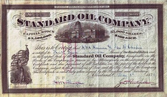 Share of the Standard Oil Company, issued 1 May 1878[10]
