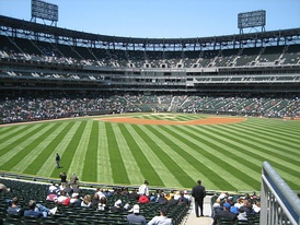Guaranteed Rate Field before a game