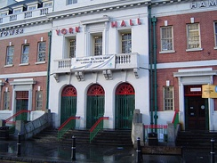 The York Hall boxing venue, which Morrissey frequented in the mid-1990s