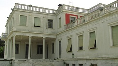 The former royal residence in Thessaloniki (Government House)