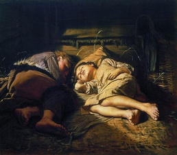 Sleeping Children (1870)