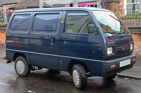 1997 Suzuki Super Carry TX van (SK410, United Kingdom)