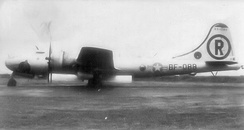 Bell-Atlanta B-29-60-BA Superfortress, AF Ser. No. 44-84088, assigned to the 718th Bomb Squadron (28th BW) at RAF Scampton, 1948