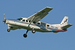 A Cessna 208B similar to this one is used by the RBDF