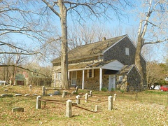 Chichester Friends Meetinghouse (1688 and 1769) near Boothwyn, in Upper Chichester Township, Delaware County, Pennsylvania, added in 1973.[1]
