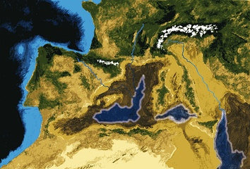 Messinian salinity crisis before the Zanclean flood