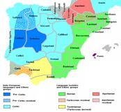 Этнография Иберии ок. 200 года до н.э.