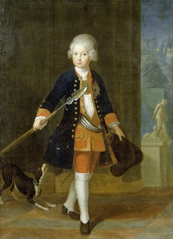 Frederick, Crown Prince of Prussia, by Antoine Pesne, 1724