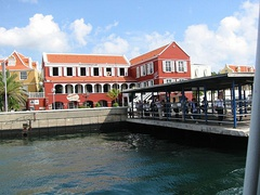 Buildings in historic area of Willemstad