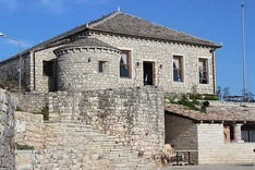 The Lëkurësi Castle in Sarandë was built in the Middle Ages.