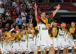 Lithuania men's national basketball team is ranked 5th worldwide in FIBA Rankings.