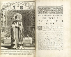Confucius, Philosopher of the Chinese, published by Jesuit missionaries at Paris in 1687.