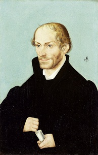 Portrait of Philip Melanchthon, 1537, by Lucas Cranach the Elder