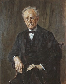 Retrato de Max Liebermann, 1918.