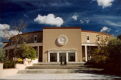 The New Mexico State Capitol in Santa Fe