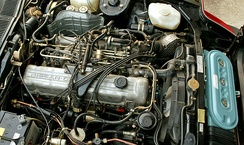 Nissan L28ET engine in a Datsun 280ZX