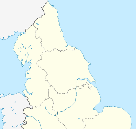 Northern Counties East Football League is located in Northern England