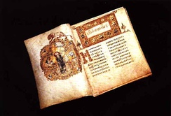 The Ostromir Gospels of 1056 is the second oldest East Slavic book known, one of many medieval illuminated manuscripts preserved in the Russian National Library.