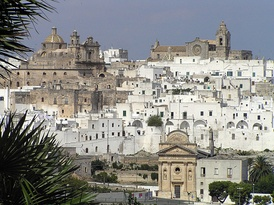 The medieval town of Ostuni