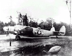 A USMC PV-1 night fighter from VMF(N)-531 in the Solomons, 1943.
