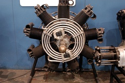 Packard DR-980 diesel radial aircraft engine.