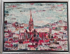 """Salisbury cathedral"" (2018) by Stephan Wolf"