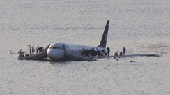 US Airways Flight 1549 was written off after ditching into the Hudson River