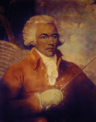 "The Chevalier de Saint-Georges, known as the ""Black Mozart"", was, by his social position, and by his political involvement, a figurehead of free blacks"