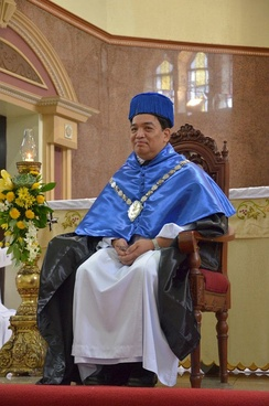Herminio Dagohoy, the 96th Rector Magnificus of the Pontifical and Royal University of Santo Tomas, Manila