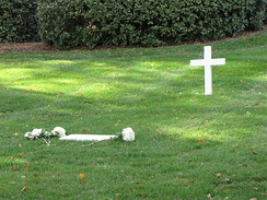 Kennedy's grave at Arlington National Cemetery