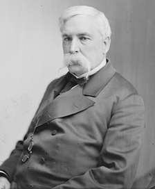 A later portrait of Mayor/Governor Thomas Swann, circa 1865-1880