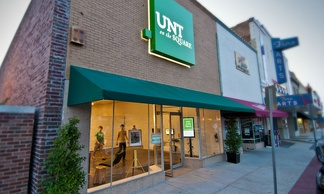 "Photograph of ""UNT on the Square"""