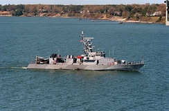 USS Firebolt (PC-10), a United States Navy Cyclone-class patrol ship