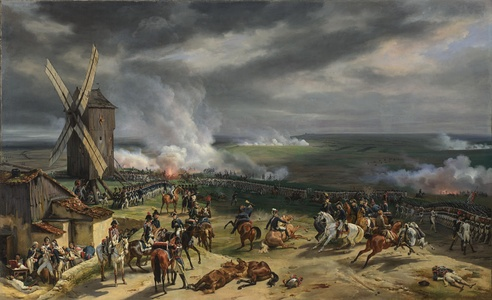 French victory over the Prussians at the Battle of Valmy (September 29, 1792)