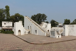 The Jantar Mantar at Ujjain was commissioned by Jai Singh II (1688-1743) of Jaipur.