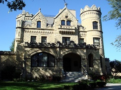 The Joslyn Castle is home to a nonprofit environmental organization.