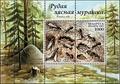 Formica rufa на марке Белоруссии