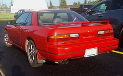 1991 - 1993 Nissan 240SX photographed in Sault Ste. Marie, Ontario, Canada