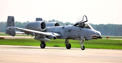 Fairchild Republic A-10A Thunderbolt II Serial 80-0252 of the 75th Fighter Squadron.