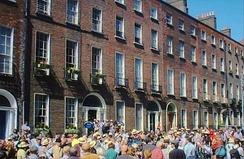 Bloomsday celebrations in Dublin