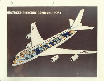National Emergency Airborne Command Post internal configuration, April 1976