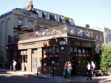 The Castle, a pub on Pentonville Road, achieved notoriety in 2015 when it was discovered the Hatton Garden safe deposit burglary was discussed there by the perpetrators.