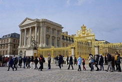 Palace of Versailles (begun by Louis Le Vau in 1661)