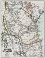 Historical map of German East Africa, 1892