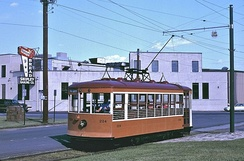 The Fort Smith Trolley Museum offers trolley rides year-round.